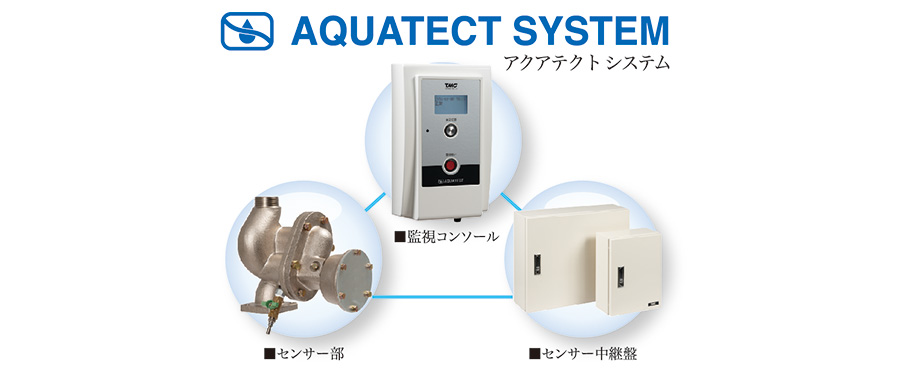 配管水検知システム AQUATECT SYSTEM
