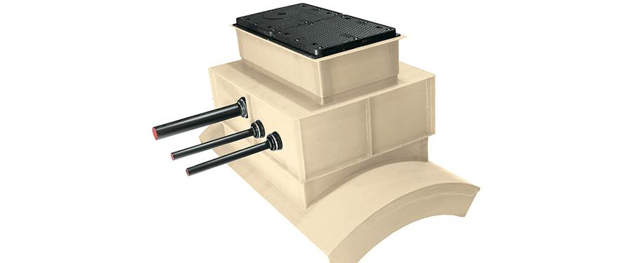 貯油設備 点検口ボックス(FRPプロテクター)